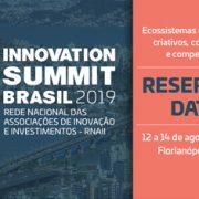 Innovation Summit Brasil 2019 save the date